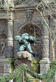 Medici fountain, the grotto of luxembourg