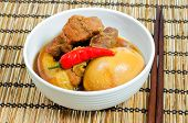 Vietnamese Pork Stew with Hard Boiled Egg
