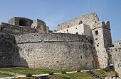 Castle of Monte Sant'Angelo. Puglia. Italy.