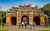 Hien Lam Pavilion Gate - Hue, Vietnam
