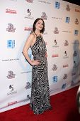LOS ANGELES - FEB 19:  Michelle Borth arrives at the 2nd Annual Hollywood Rush at the Wilshire Ebell
