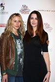 LOS ANGELES - FEB 19:  Gillian Zinser; Madeline Zima arrives at the 2nd Annual Hollywood Rush at the