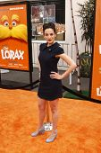 LOS ANGELES, CA - FEB 19: Jenny Slate at the 'Dr. Suess' The Lorax' premiere at Universal Studios Hollywood on February 19, 2012 in Los Angeles, California