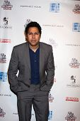 LOS ANGELES - FEB 19:  Dileep Rao arrives at the 2nd Annual Hollywood Rush at the Wilshire Ebell on