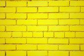 Old Yellow Brick Wall