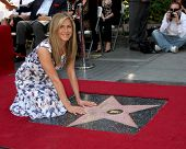 LOS ANGELES - FEB 22:  Jennifer Aniston at the Jennifer Aniston Hollywood Walk of Fame Star Ceremony at the W Hollywood on February 22, 2012 in Los Angeles, CA.
