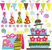 Retro Birthday Celebration Collection