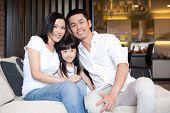 Aziatische familie Lifestyle