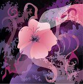 Beautiful Flower Background. Eps 10