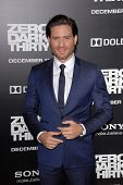 LOS ANGELES - DEC 10:  Edgar Ramirez arrives to the 'Zero Dark Thirty' premiere at Dolby Theater on