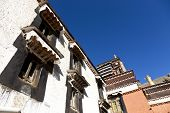 Tashilunpo Kloster - one of the most famous temple in Tibet