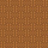 Vector Background - Seamless Ethnic Pattern From Indonesia