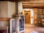 Rural Room with Chimney