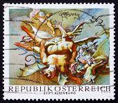 Postage stamp Austria 1968 Vanquished Demons, by Paul Troger