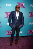 .LOS ANGELES - DEC 17:  L.A. Reid at the 'X Factor' Season Finale Press Conference at CBS Television