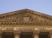 Reichstag Building Detail