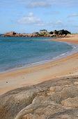 Brittany, La Greve De Toul Drez In Tregastel