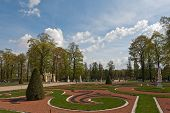 stock photo of tsarskoe  - Catherine park of Tsarskoe Selo in spring Sankt - JPG