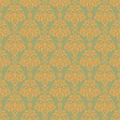 Seamless Soft Damask Pattern