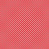 Seamless Red & White Pattern