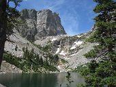 Hallett Peak In Estes Park Colorade