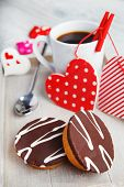 Cupcakes and coffee made with love for someone special