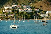 Yacht club in Saint Thomas