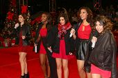 LOS ANGELES - DEC 19:  Fifth Harmony at the 'X Factor' Season Finale performances  show taping at CB