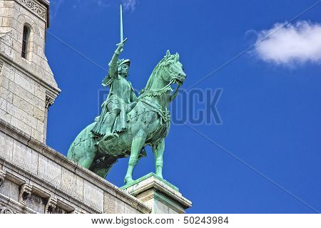 Horse statue of The Sacre
