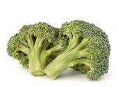 Brokkoli-Gemüse isoliert auf weißem Hintergrund