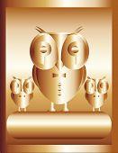 Golden owl - big boss