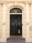 Georgian Doorway London