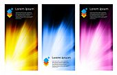 business color brochure design set, easy all editable