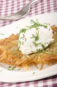 Hash Brown With Soft Cheese