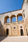 Norman Swabian Castle. Mesagne. Puglia. Southern Italy.