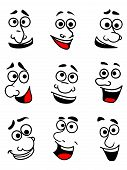 Emotional faces set