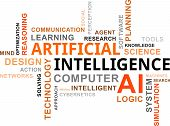Word Cloud - Artificial Intelligence