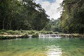 Semuc Champey Waterfals, Guatemala