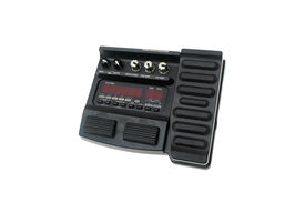 stock photo of ibanez  - multi effects pedal sound processor isolated on white - JPG