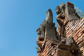 Details Of Ancient Burmese Buddhist Pagodas