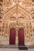 Spain. Gateway To The New Cathedral In Salamanca.