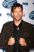 LOS ANGELES - FEB 20:  Harry Connick Jr at the American Idol 13 Finalists Party at Fig & Olive on Fe