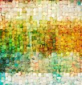 stock photo of tan lines  - Vintage mosaic background - JPG