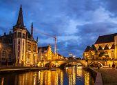 Sint Michiels bridge, Ghent