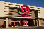 JACKSONVILLE, FL-FEBRUARY 18, 2014: A Target store  in Jacksonville. Target Corporation is the second-largest discount retailer in the United States and is ranked 36th on the Fortune 500 as of 2013.