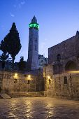 Minaret At Night