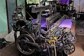 Textile Production  - old machine