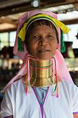 Long-necked Kayan Lahwi Woman