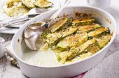 picture of eat me  - zucchini baked with cheese - JPG