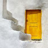 Greek doors. Santorini
